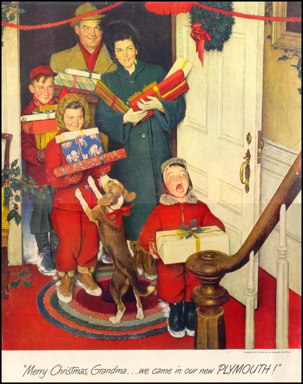 A Norman Rockwell Christmas